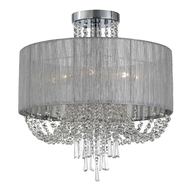 SL892.102.08 Люстра потолочная ST-Luce Хром/Серебристый, Прозрачный E14 8*40W