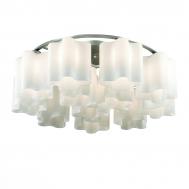 SL116.052.12 Люстра потолочная ST-Luce Серебристый/Белый E27 1*60W (из 2-х коробок)