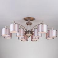 60080/12 / потолочный светильник /   сатин-никель