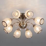 30026/8 / потолочный светильник /   античная бронза