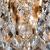 10081/12 / потолочный светильник /   золото/прозрачный хрусталь Strotskis